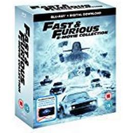 Fast & Furious 8-Film Collection (1-8 Boxset) BD + digital download [Blu-ray] [2017] [Region Free]